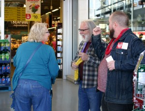 Shopper, Steve, Kevin
