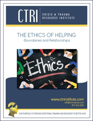 My Experience with 'The Ethics of Helping'